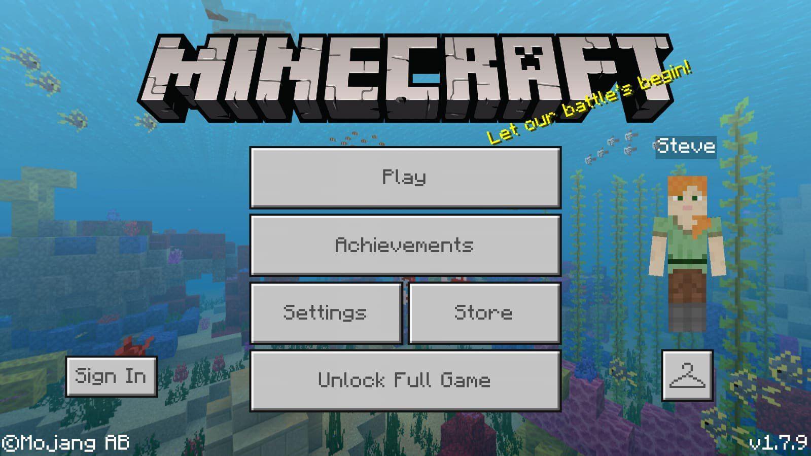Cambiar Skin Minecraft PE