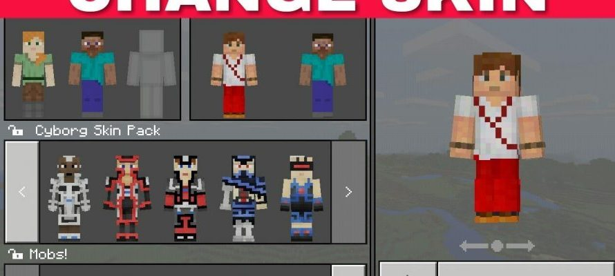 Como colocar skins no Minecraft