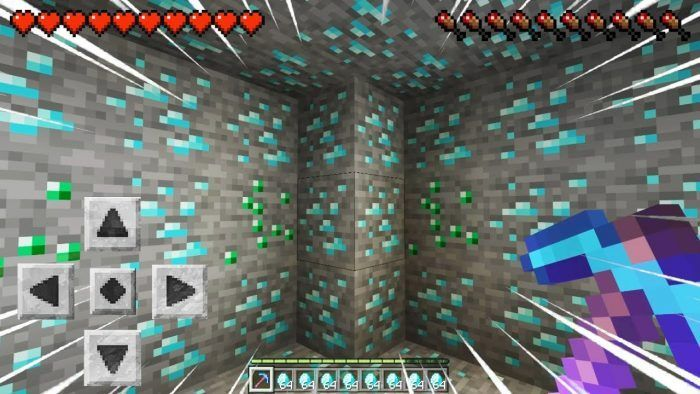 Descubre diamantes en Minecraft