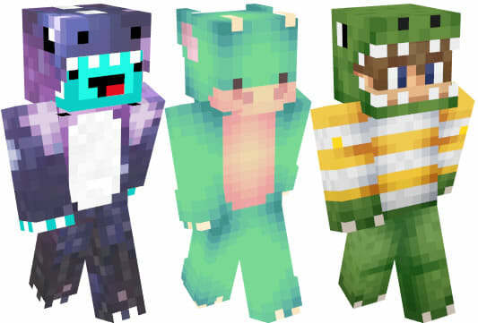 Dino Skins para Minecraft