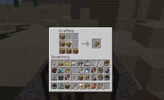 Como fazer escadas em bloco em Minecraft