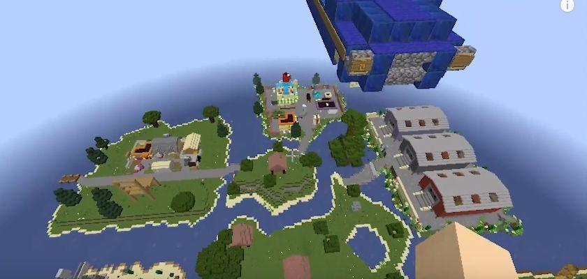 Mapas de Fortnite para Minecraft – Baixar gratis