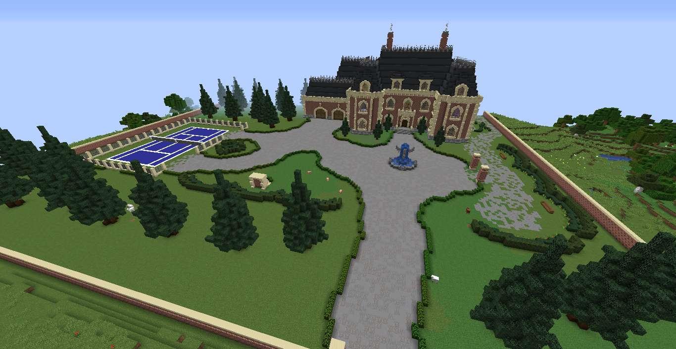 Leo CraftingTV's Victorian Lake Mansion