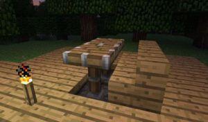 Como fazer móveis em Minecraft