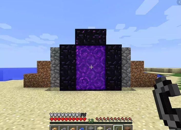 Como fazer um portal para o Nether do Minecraft