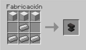 fabricar yunque en minecraft