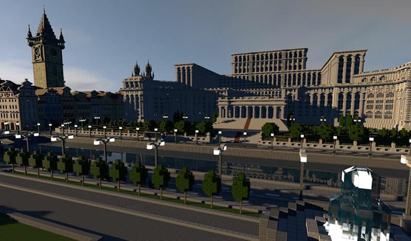 Baixar mapas de cidades de Minecraft