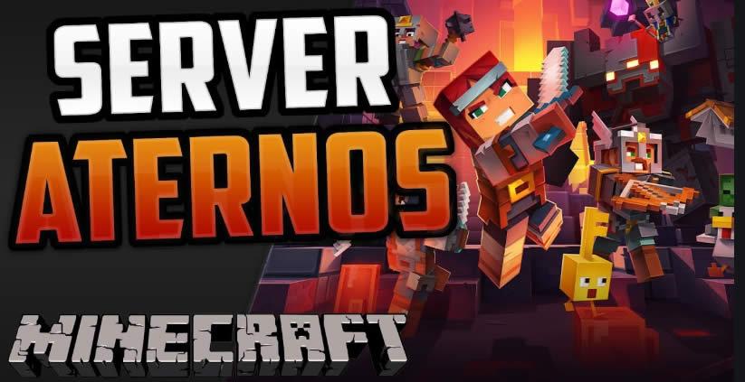 Os melhores servidores Aternos Minecraft grátis