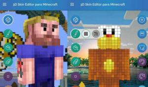 Top 3 melhores editores de Skins para Minecraft